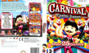 Carnival: Funfair Games (2007) PAL Wii DVD Cover & Label