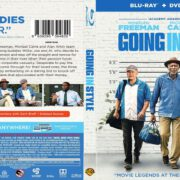 Going in Style (2017) R1 Custom Blu-Ray Cover