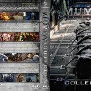 The Mummy Collection (1999-2017) R1 Custom Blu-Ray Cover