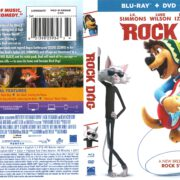 Rock Dog (2016) R1 Blu-Ray Cover