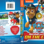 Paw Patrol: Marshall and Chase on the Case! (2015) R1 DVD Cover
