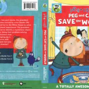 Peg + Cat: Peg and Cat Save the World (2017) R1 DVD Cover
