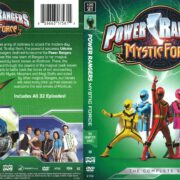 Power Rangers Mystic Force (2017) R1 DVD Cover