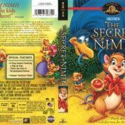 Secret of NIMH (1982) R1 DVD Cover