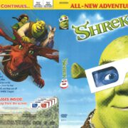 Shrek 3-D (2004) R1 DVD Cover