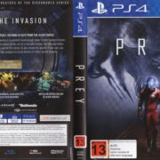 Prey (2017) PAL PS4 Cover