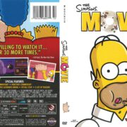 The Simpsons Movie (2007) R1 DVD Cover