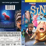 Sing (2017) R1 DVD Cover