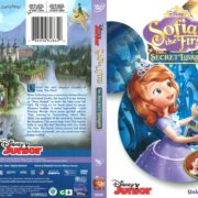 Sofia the First: The Secret Library (2016) R1 DVD Cover