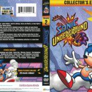 Sonic Underground Volume 2 (1998) R1 DVD Cover
