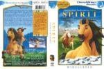Spirit: Stallion of the Cimarron (2004) R1 DVD Cover
