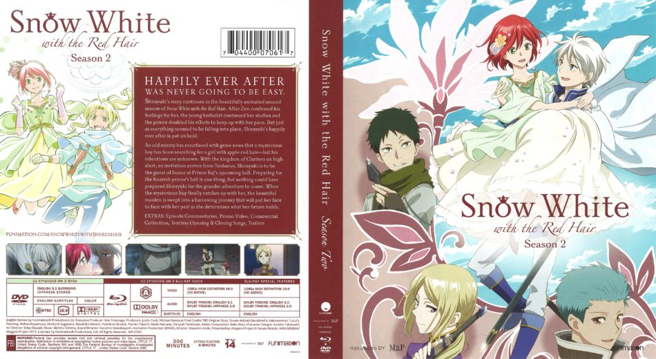 Snow White With The Red Hair Season 2 Blu Ray Cover 2015 R1