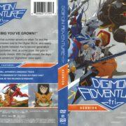 Digimon Adventure Tri: Reunion (2015) R1 DVD Cover