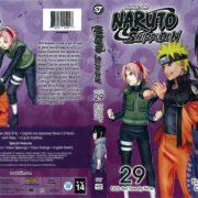Naruto Shippuden Set 29 (2002) R1 DVD Cover
