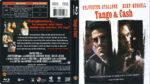 Tango & Cash (1989) R1 Blu-Ray Cover & Label