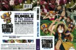 One Piece Film: Strong World (2009) R1 DVD Cover