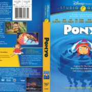 Ponyo (2009) R1 DVD Cover
