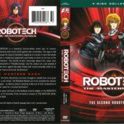 Robotech, The Macross Saga: The Second Robotech War (1985) R1 DVD Cover