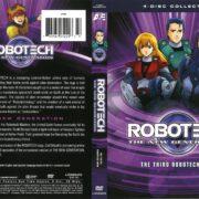 Robotech, The Macross Saga: The Third Robotech War (1985) R1 DVD Cover