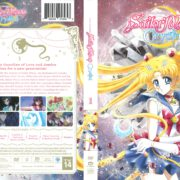 Sailor Moon Crystal Season 1 (2014) R1 DVD Cover