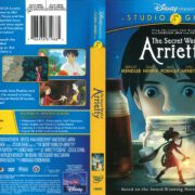 The Secret World of Arrietty (2012) R1 DVD Cover