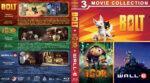 Bolt / Igor / Wall•e Triple Feature (2008) R1 Custom Blu-Ray Cover