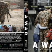 A War (2016) R2 CUSTOM Cover & Label