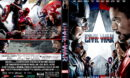 Captain America: Civil War (2016) R1 Custom DVD Cover V2