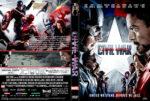 Captain America: Civil War (2016) R1 Custom DVD Cover V2