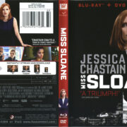 Miss Sloane (2016) R1 Blu-Ray Cover & Labels
