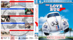 The Love Bug (Herbie) Collection (1968-2005) R1 Custom Blu-Ray Cover