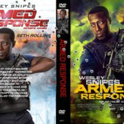 Armed Response (2016) R0 CUSTOM DVD Cover & Label