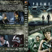 Prometheus / Alien: Covenant Double Feature (2012-2017) R1 Custom Blu-Ray Cover