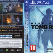 Rise of the Tomb Raider (2016) PAL PS4 Cover