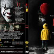 It (2017) R1 CUSTOM DVD Cover & Label