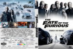 The Fate Of The Furious (2017) R1 CUSTOM DVD Cover & Label