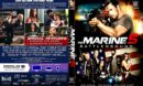 The Marine 5-Battleground (2017) R1 CUSTOM DVD Cover & Label