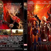 Thor: Ragnarok (2017) R1 CUSTOM DVD Cover & Label