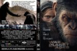 War For The Planet Of The Apes (2017) R1 CUSTOM DVD Cover & Label