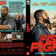 Fist Fight (2017) R1 Custom DVD Cover