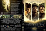 The Lost City Of Z (2017) R1 CUSTOM DVD Cover & Label