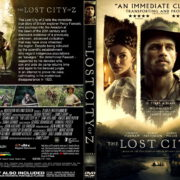The Lost City Of Z (2017) R1 CUSTOM DVD Cover & Label