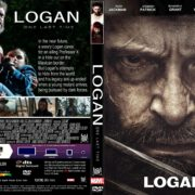 Logan (2017) R1 CUSTOM DVD Cover & Label
