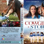 A Cowgirl's Story (2017) R1 CUSTOM DVD Cover & Label