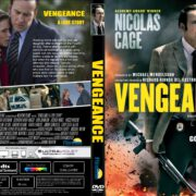 Vengeance: A Love Story (2017) R1 CUSTOM DVD Cover