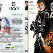 Six Days (2017) R2 CUSTOM Cover & Label