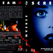 Scream 3 (2010) R2 German Blu-Ray Covers