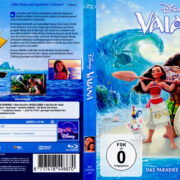 Vaiana (2017) R2 German Blu-Ray Cover