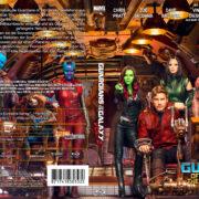 Guardians of the Galaxy Vol. 2 (2017) R2 German Custom Blu-Ray Cover