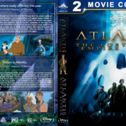 Atlantis: The Lost Empire / Milo's Return Double Feature (2001-2003) R1 Custom Blu-Ray Cover